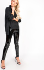 Jasmin Thin Knit Polo Neck Jumper Thumbnail