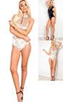 Kacey Velour Zip Up Bodysuit Thumbnail
