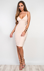 Cadence Strappy Lace Bodycon Dress Thumbnail