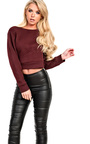 Carlie Cropped Jumper Thumbnail
