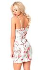 Reya Strappy Floral Wrap Dress Thumbnail