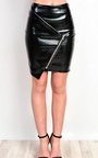 Aidrianna Metallic Skirt  Thumbnail