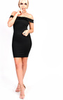 Maria Frill Bardot Bodycon Dress Thumbnail