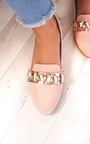 Sherla Embellished Flat Pump Shoe Thumbnail