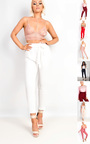 Hayleigh Paperbag Tie Tailored Trousers Thumbnail