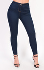 Amy High Waisted Skinny Stretch Jeans Thumbnail