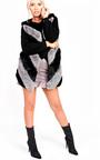 Jess Faux Fur Waistcoat Thumbnail