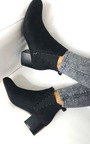 Alisa Faux Suede Ankle Boots Thumbnail