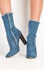 Mylene Denim Ankle Boots  Thumbnail