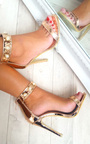Leah Barely There Pearl Heels Thumbnail