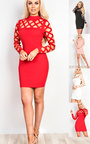 Esme Cut Out Bodycon Dress Thumbnail