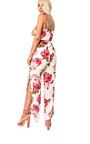 Tilly Floral Tie Waist Jumpsuit Thumbnail