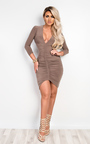 Ryder Ruched Bodycon Dress Thumbnail