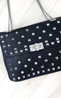 Sally Quilted Studded Shoulder Chain Bag Thumbnail