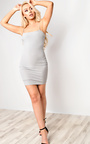 Aby Ribbed Mini Dress Thumbnail