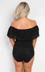 Nairi Off Shoulder Lace Bodysuit Thumbnail