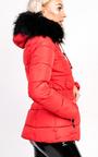 Hadid Padded Faux Fur Hooded Jacket Thumbnail