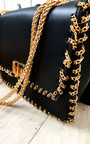 Pommy Gold Chain Shoulder Bags Thumbnail