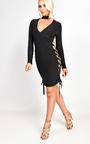 Reyna Wrap Bodycon Dress Thumbnail