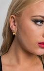 Turtle Diamante Earrings Thumbnail