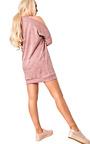 Calan Cold Shoulder Jumper Dress Thumbnail
