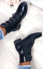 Tessa Studded Buckle Ankle Boots  Thumbnail