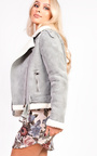 Arianna Faux Fur Shearling Jacket Thumbnail