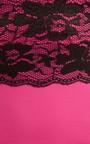 Elle Lace Panel Bodycon Midi Dress Thumbnail