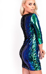 Carrie Sequin Bodycon Dress Thumbnail