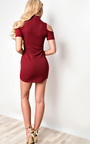 Ilene Choker Neck Mini Dress Thumbnail