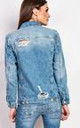 Dariela Embroidered Denim Jacket  Thumbnail