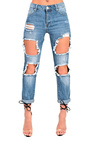 Steph Ripped Jeans Thumbnail