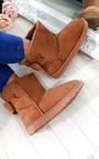 Kara Faux Fur Bow Platform Boots Thumbnail