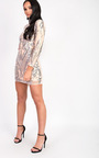 Alesha Sequin Long Sleeved Dress Thumbnail