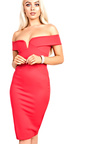 Kaidence Off Shoulder Bodycon Dress Thumbnail