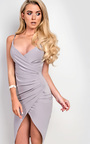 Bella Gathered Bodycon Dress  Thumbnail
