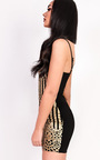 Chloe Glitter Bodycon Dress Thumbnail