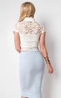 Gabriella High Neck Lace Top Thumbnail