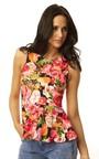 Serena Floral Peplum Top Thumbnail