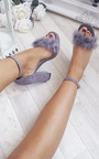 Alena Fluffy High Heels  Thumbnail