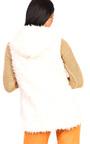 Alisa Faux Fur Hooded Waistcoat Thumbnail