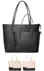 Lilo 2 in 1 Contrast Faux Leather Handbag Thumbnail