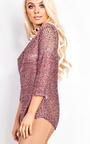Bexie Metallic Knitted Jumper Thumbnail