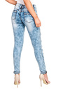 Brookelle Mid Rise Ripped Skinny Jeans Thumbnail