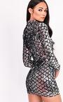 Harley Long Sleeved Sequin Dress Thumbnail