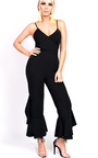 Maxine Flared Leg Strappy Jumpsuit Thumbnail