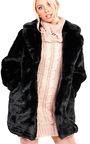 Mel Faux Fur Coat Thumbnail