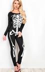 Skeleton Fancy Dress Bodysuit Thumbnail