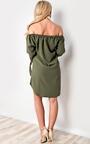 Kye Off Shoulder Shirt Dress Thumbnail