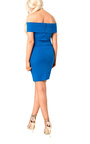Balir Bardot Midi Dress Thumbnail